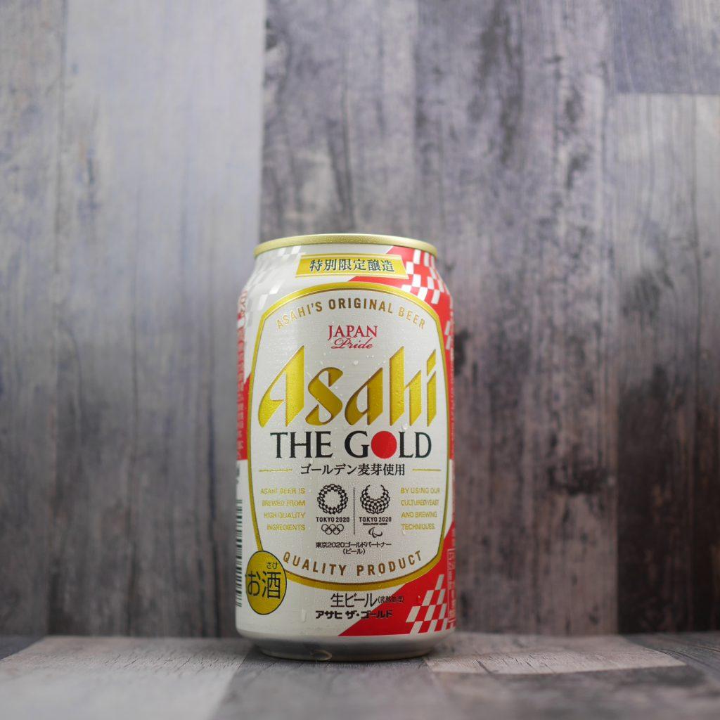 アサヒザ・ゴールドの缶正面