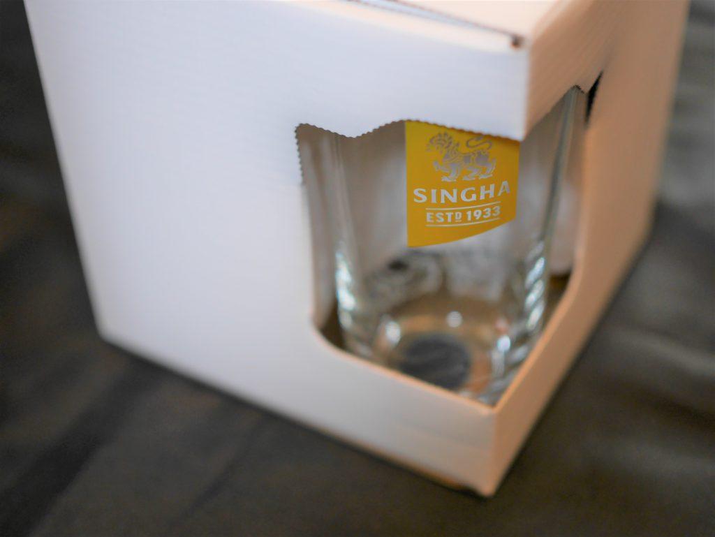 シンハービールグラスセット外観2