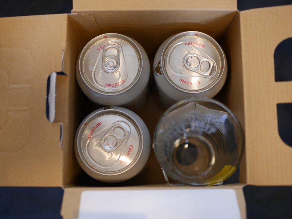 シンハービールグラスセット外観3