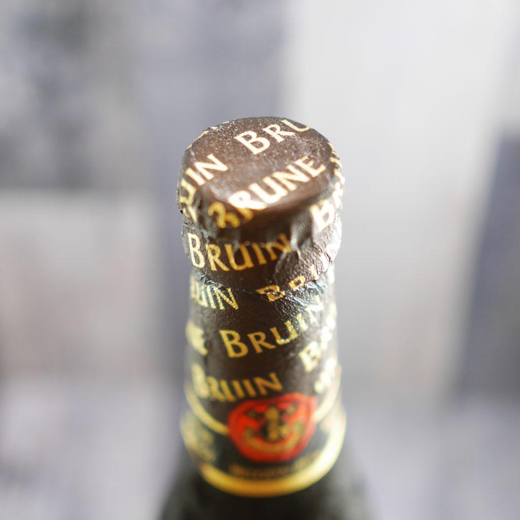 レフ・ブラウンの瓶の上部