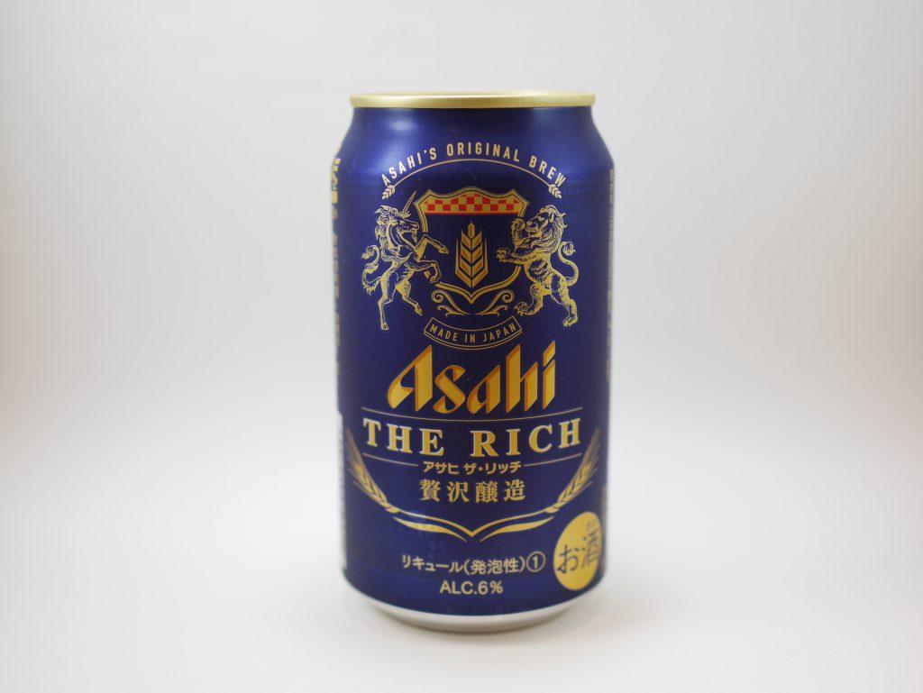 アサヒ ザ・リッチの缶正面