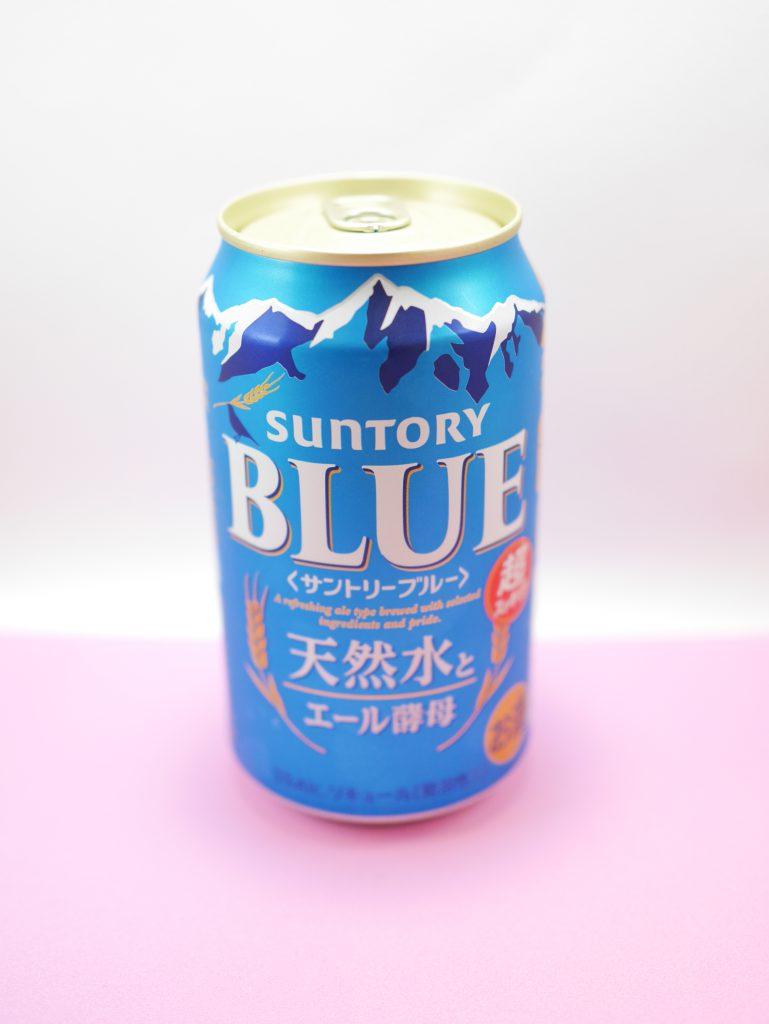 サントリーブルー缶の正面