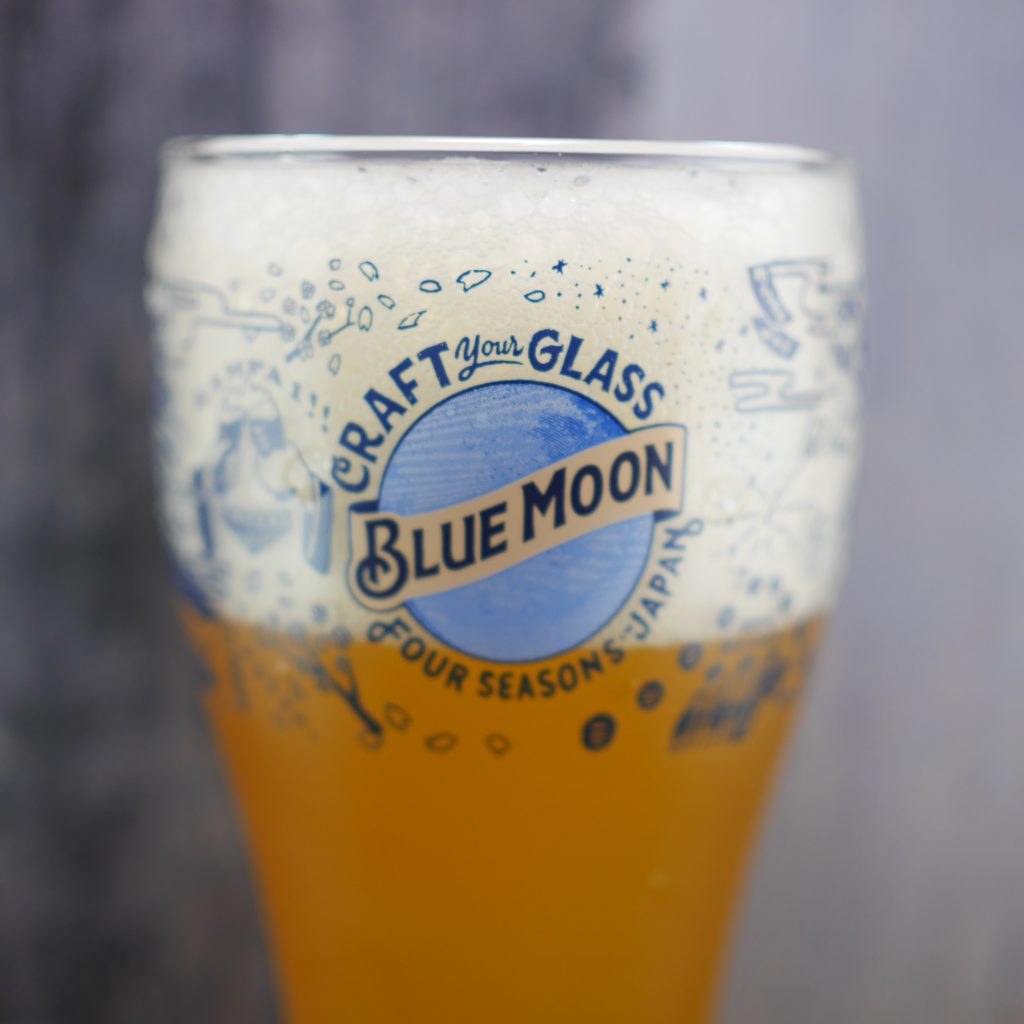 BLUEMOONの日本版オリジナルグラス1