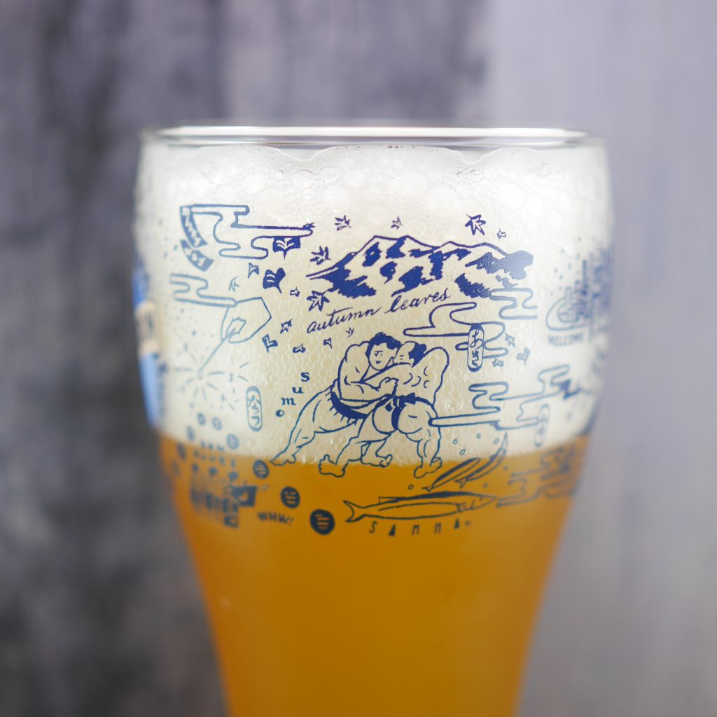 BLUEMOONの日本版オリジナルグラス2